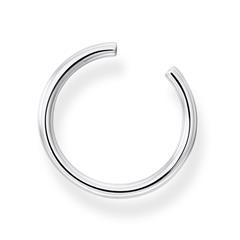 Ear Cuffs aus 925er Silber, groß