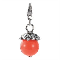 EDC Charm Hot Glam Glowing Tangerine EECH10123K000