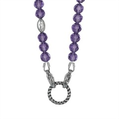 EDC Kette Glamour Chic - Punky Purple EENL10236A420
