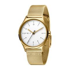 Esprit Uhr Essential für Damen gold