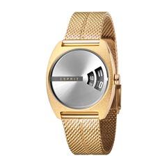 Uhr Disc für Damen gold