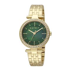 Ladies Gold-Plated Stainless Steel Watch