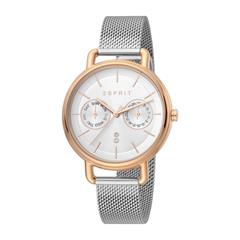 Stainless Steel Ladies' Watch With Date And Weekday
