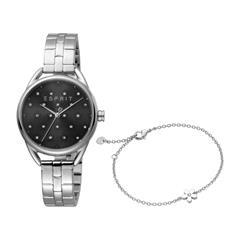 Stainless Steel Ladies Watch And Bracelet Debi Flowers S
