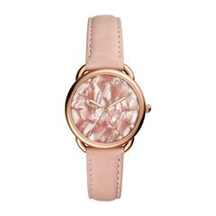 Uhr Tailor für Damen Leder rosa