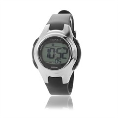 Esprit Digital-Kinderuhr in schwarz ES906474002