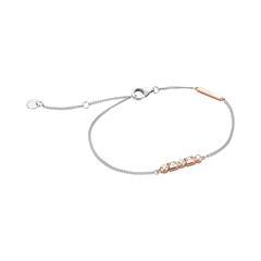 Armband Flow für Damen aus Sterlingsilber rosé