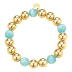 Armband Bold Spheres Mint Gold
