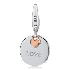 Charm Medal Love