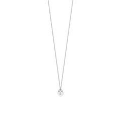 Herzkette für Damen aus 925er Silber mit Zirkonia