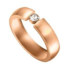 Ring Laurel Edelstahl rosévergoldet gravierbar