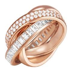 Extravagant Ring Tridelia Rose