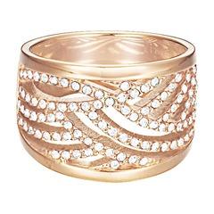 Ring in der Trendfarbe rosé