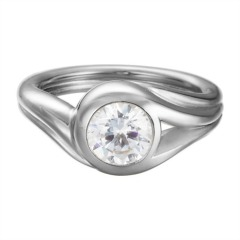 Ring Glamour Solitaire