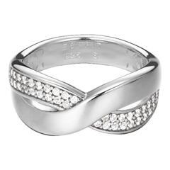 Silberring Vibrant Glam