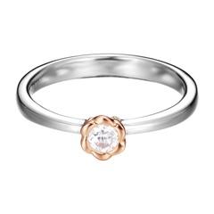Ring Petite Rose 925er Silber