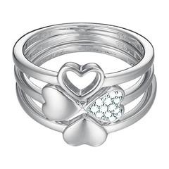 3er-Set ES-Lucky Love 925er Silber