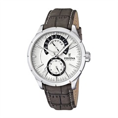 Classic Mens Watch Retrodesign Leather