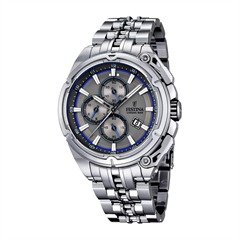 Festina Herrenuhr grau Chrono-Bike-Kollektion F16881/3