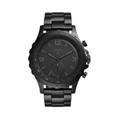 Hybrid Smartwatch Q Nate Herren schwarz