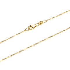 Filigree Anchor Chain In 14ct Gold