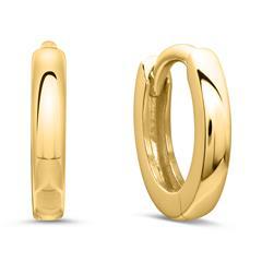 375er Gold Creolen für Damen