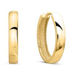 Creolen für Damen aus 9K Gold