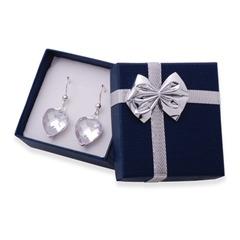 Blaues Geschenk Etui für Ohrringe und Anhänger