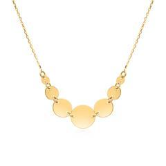 375er Goldkette für Damen, gravierbar