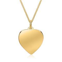 333er Goldkette inkl. Herzanhänger