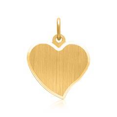 Herzanhänger aus 585er Gold gravierbar