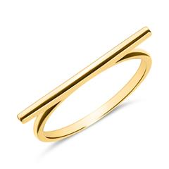 Ring im Bar Design aus 9K Gold