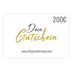 Geschenkgutschein 200,- EUR mit persönlicher Grußkarte