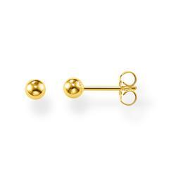 Ohrstecker für Damen aus vergoldetem Sterlingsilber