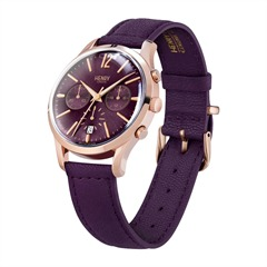 Henry London Hampstead Uhr Leder roségold HL39-CS-0092