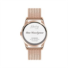 Damenuhr Henry London Richmond rosé HL39-SM-0030