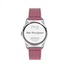 Damenuhr Henry London Hammersmith Pink HL30-US-0059