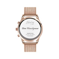 Henry London Hampstead Chronograph rosé HL39-CM-0088
