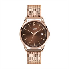 Henry London Harrow Uhr Milanaise roségold HL39-M-0050