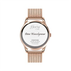 Henry London Damenuhr Stratford 39mm HL39-M-0136