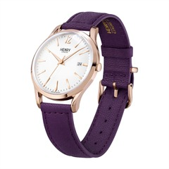 Henry London Hampstead Lederarmband roségold HL39-S-0082