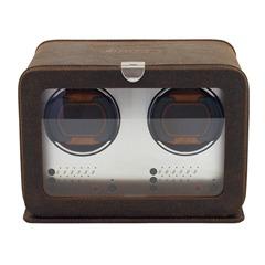 cubano uhrenbeweger f r 2 automatikuhren braun 29451 3. Black Bedroom Furniture Sets. Home Design Ideas