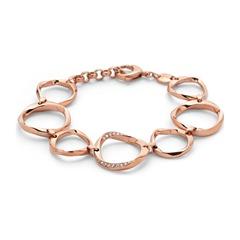 Armband Kreiselemente rosé vergoldet