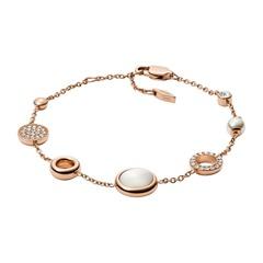 Armband aus vergoldetem Edelstahl für Damen