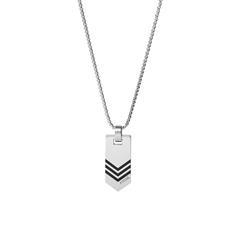 Herren Halskette aus Edelstahl, gravierbar