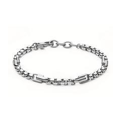 Armband für Herren aus Edelstahl