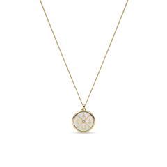 Halskette Little Fortunes für Damen aus Edelstahl, gold