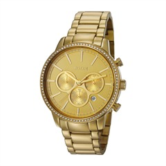 Damen-Chronograph Jackie gold