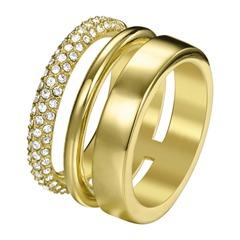 Trendbewusster-Ring JP-Delicate gold