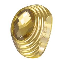 Ring Selena Edelstahl gelbgold